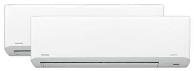 Toshiba Multisplitt med Daiseikai 7 Polar-innedeler
