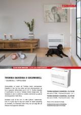 2017 aug, Produktark Toshiba Daiseikai 8 Gulvmodell