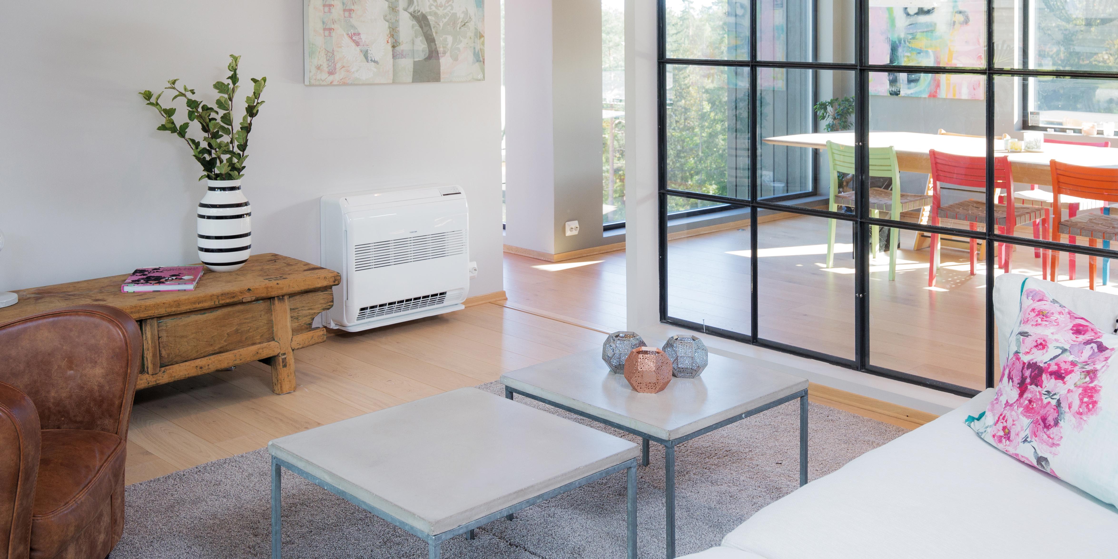 5b9f2995 Varmepumpe luft til luft | Multisplitt Gulvmodell | Toshiba varmepu...